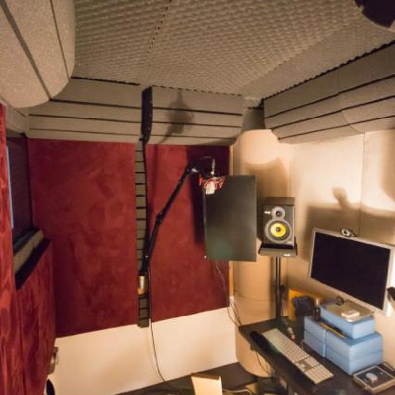 Kendra's BrilliantVO studio Voiceover Studio Finder