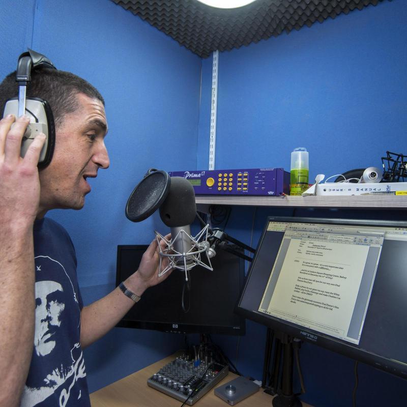 Darren Altman Voiceover Studio Finder