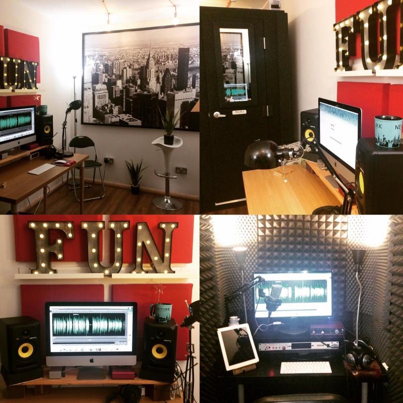 Vicky Tessio Studio Voiceover Studio Finder