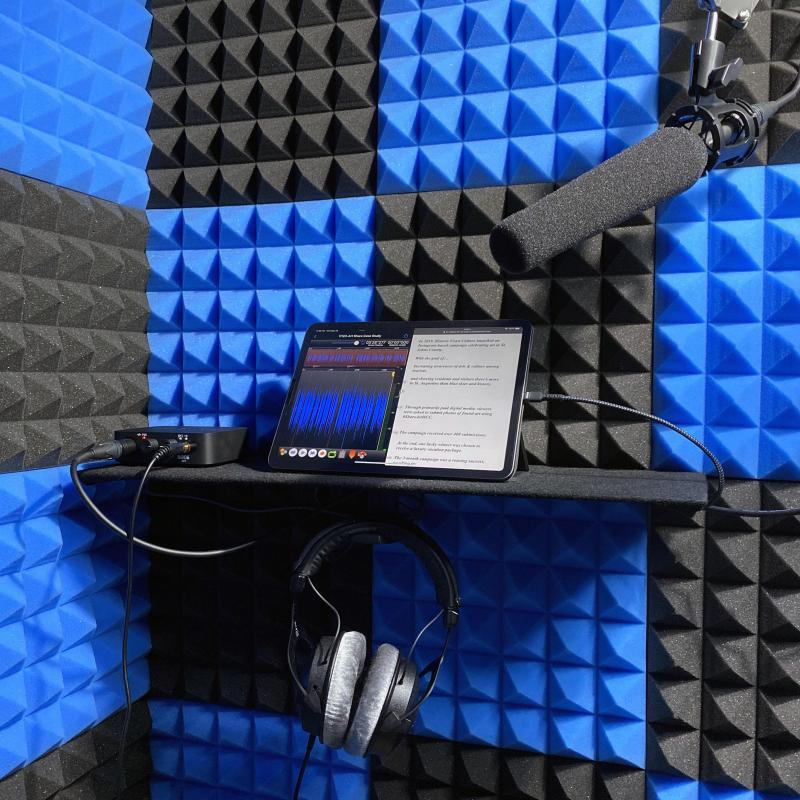 Chris Duke Voice Overs - Home Studio in United States