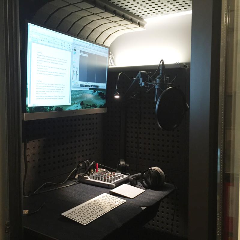 Naranjo Voiceover - Production Studio in Switzerland
