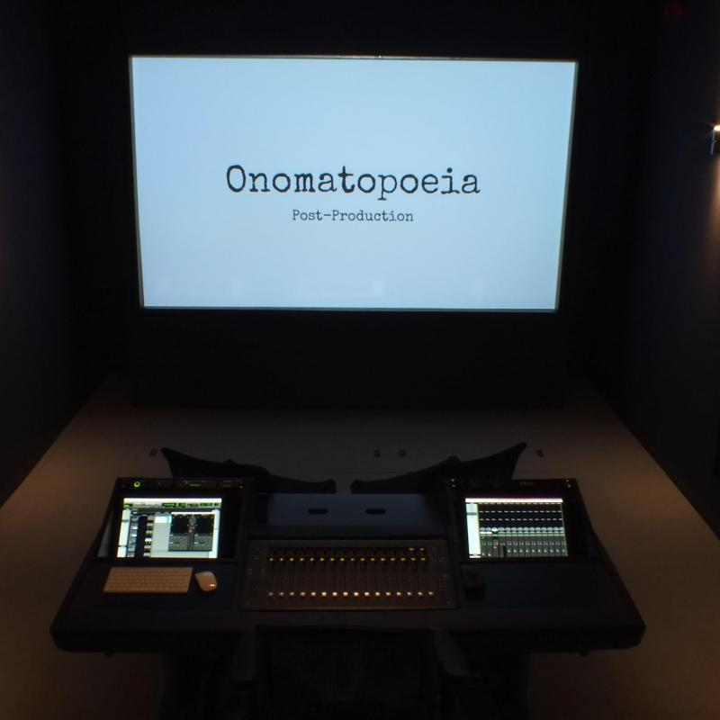 Onomatopoeia Post - Production Studio in United Kingdom