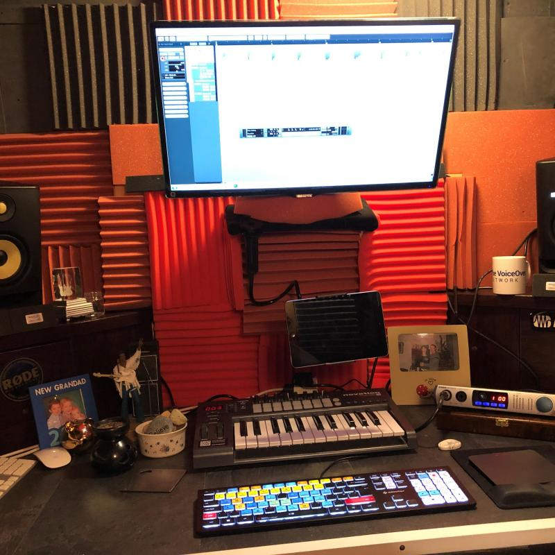 Drew's Studio - Home Studio in United Kingdom