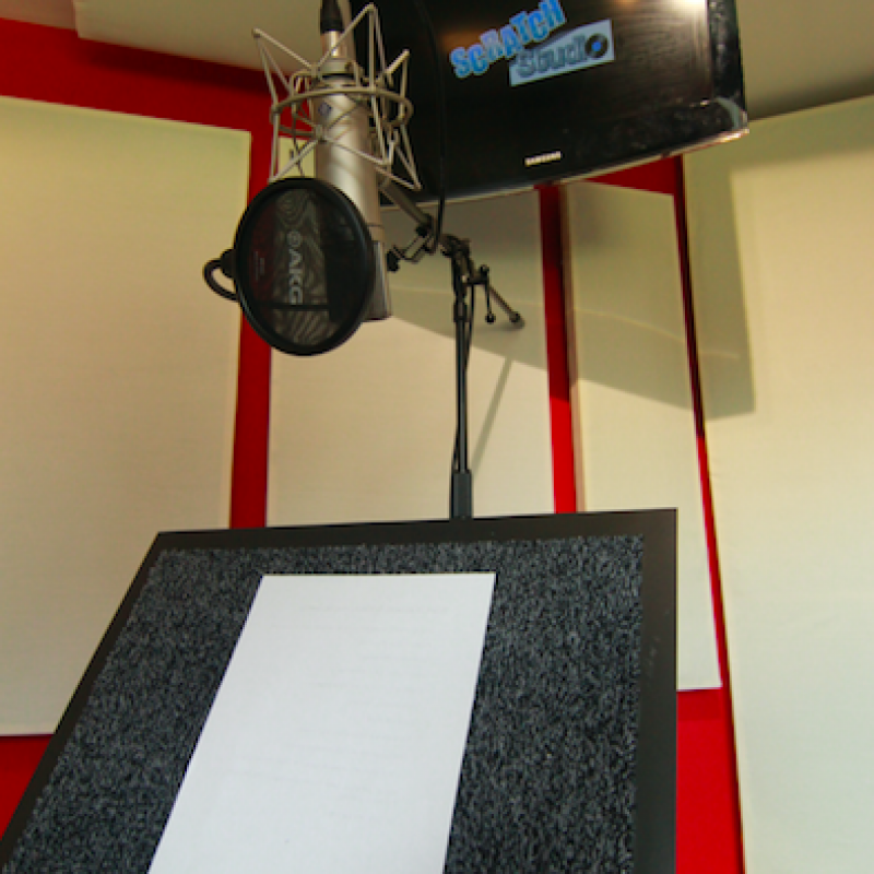 Scratch Studio Voiceover Studio Finder
