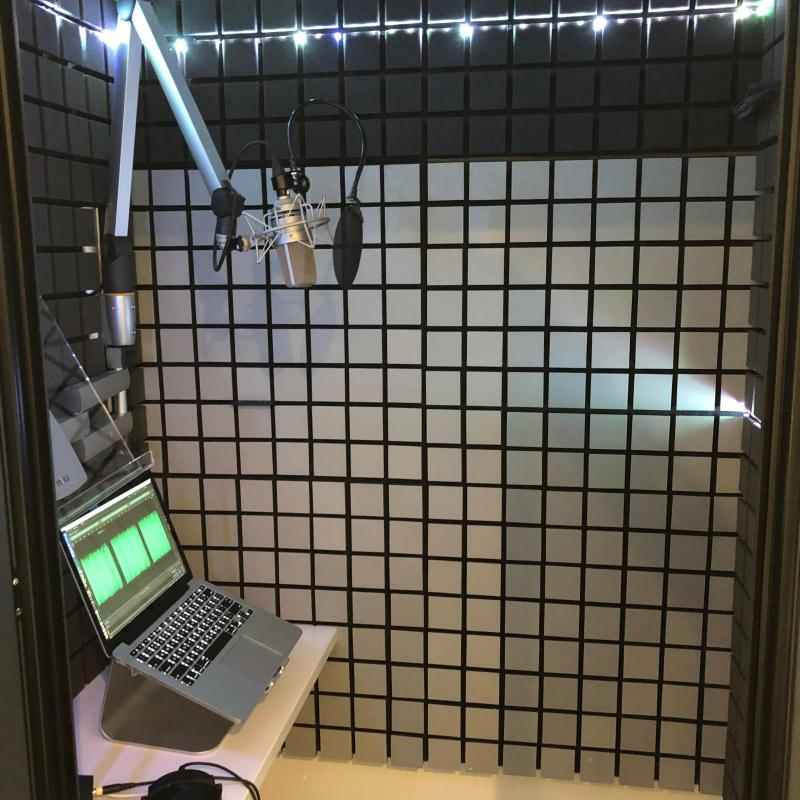 Serge's homestudio Voiceover Studio Finder