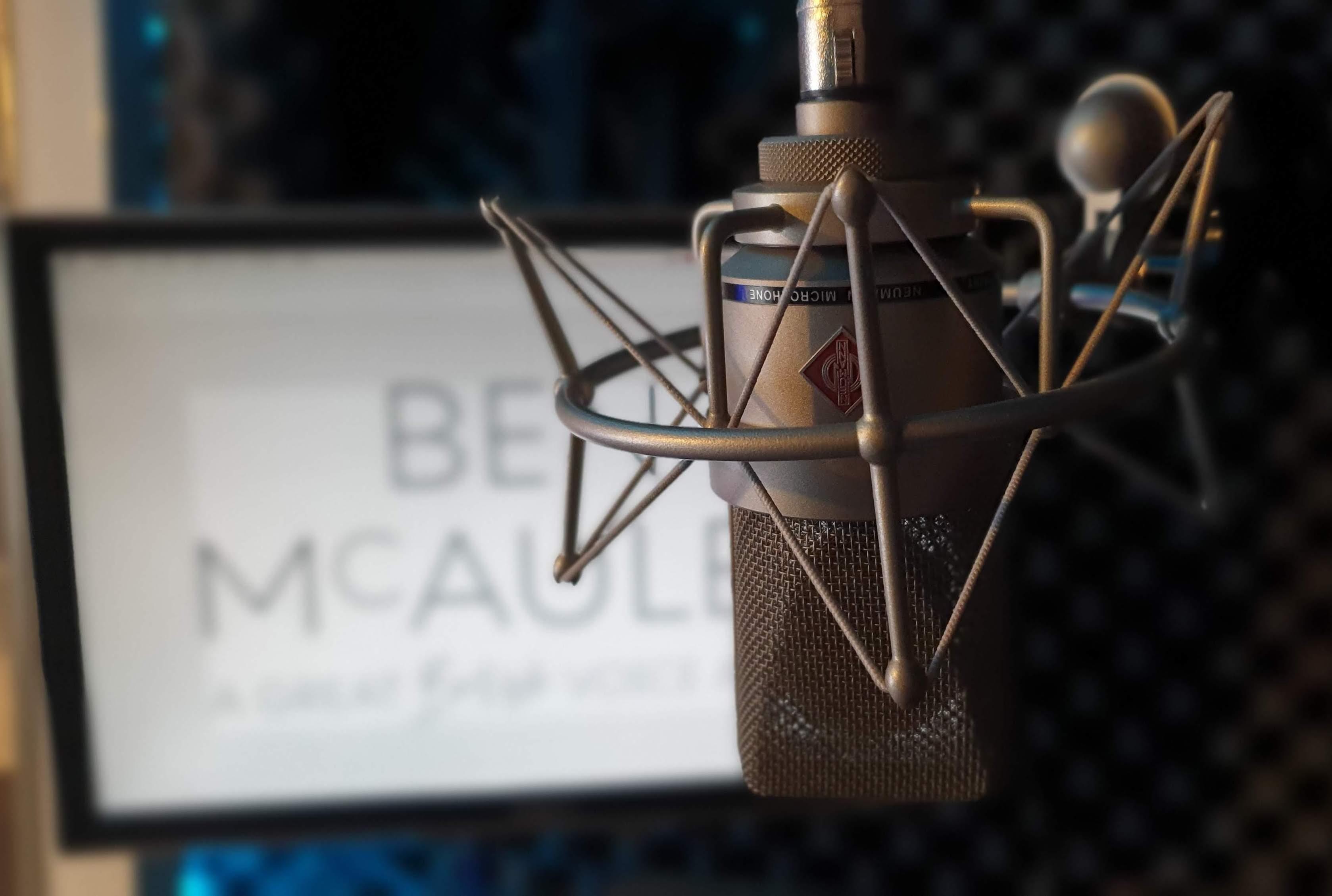Ben McAuley Voiceover Studio Finder